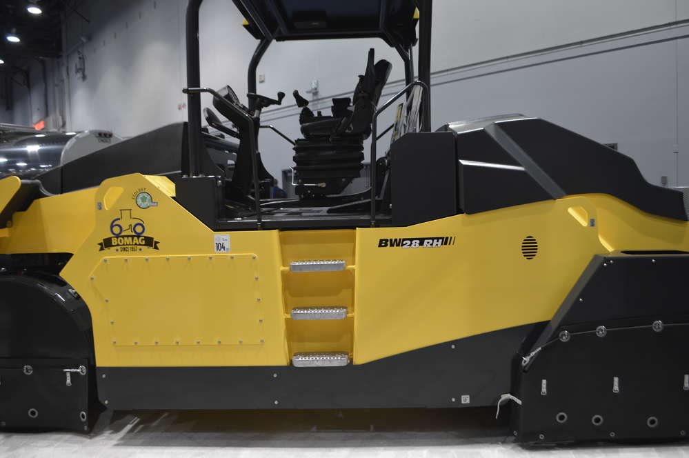 The BW28RH was featured at BOMAG's booth at ConExpo-Con/AGG 2017.