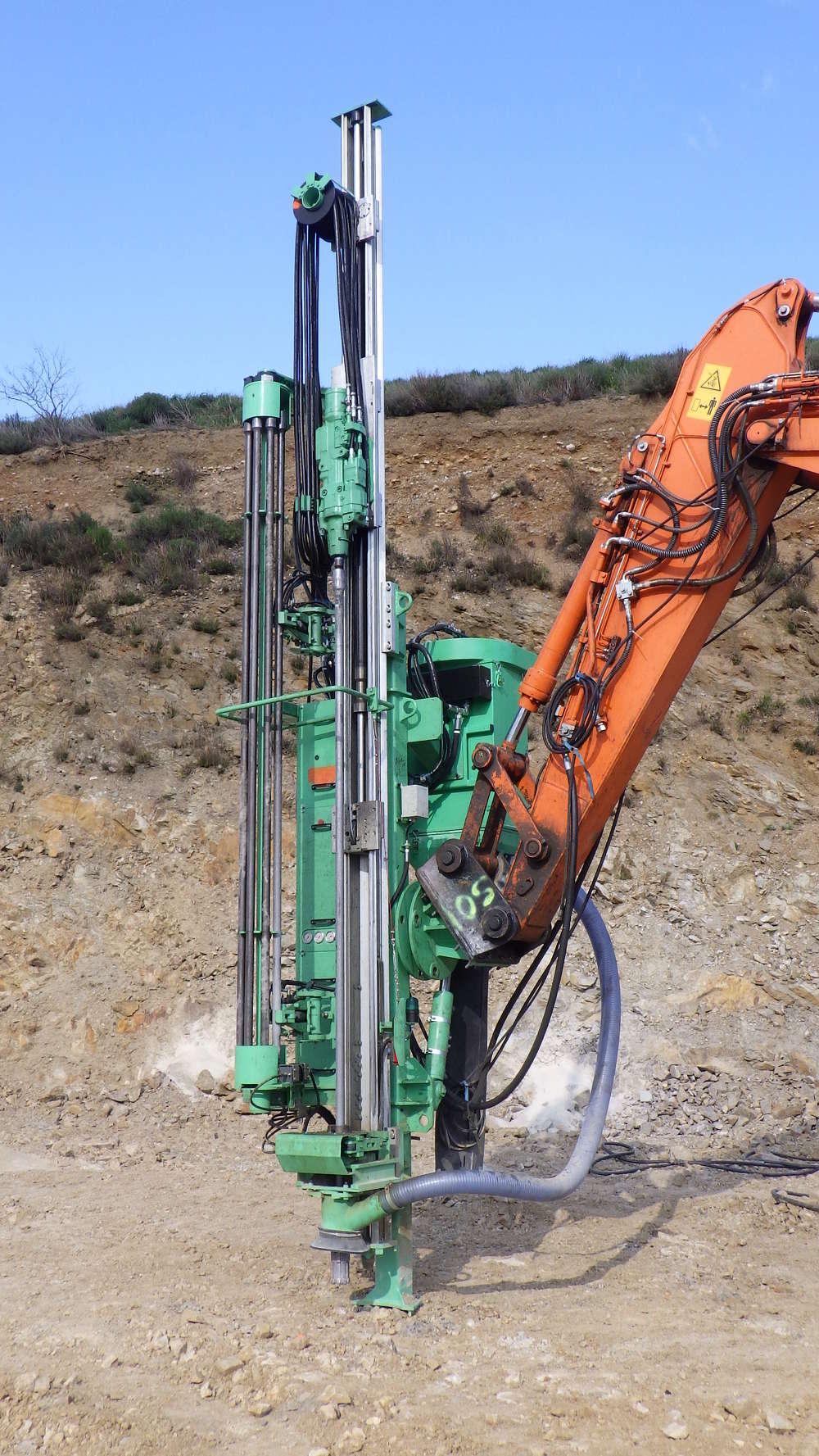 Montabert CPA295 Drill Attachment.