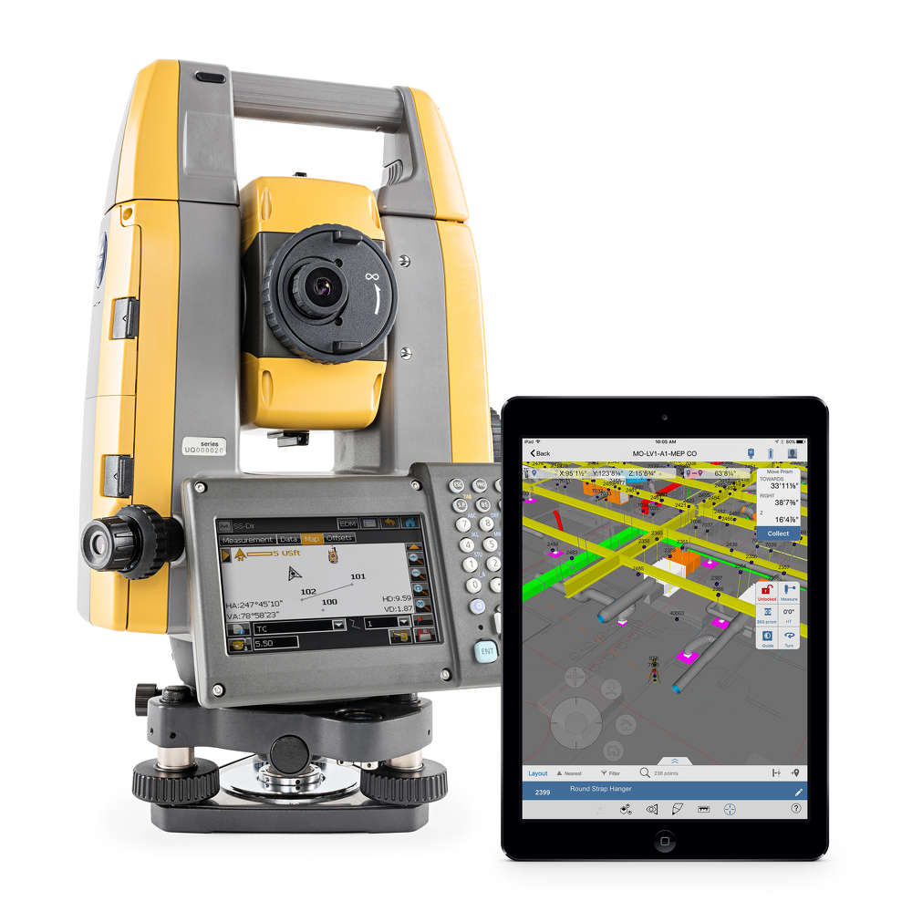 Topcon GT Series Total Stations with Autodesk.