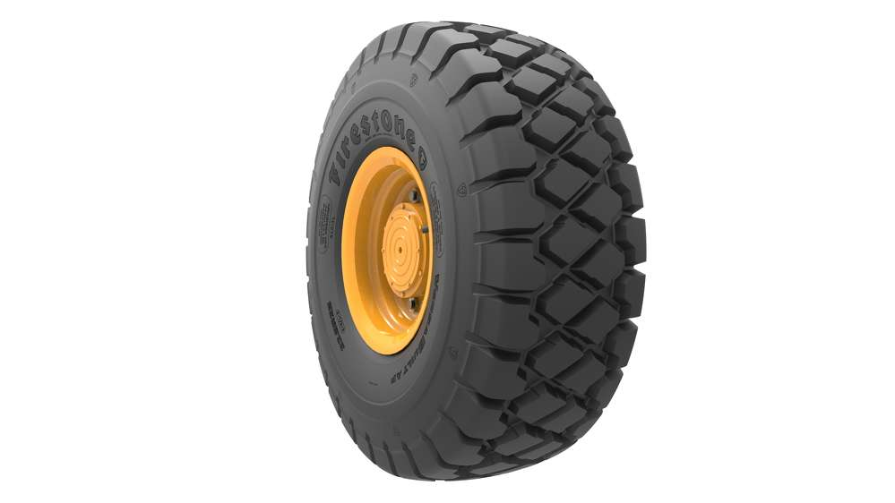 Bridgestone VersaBuilt all-purpose tires.