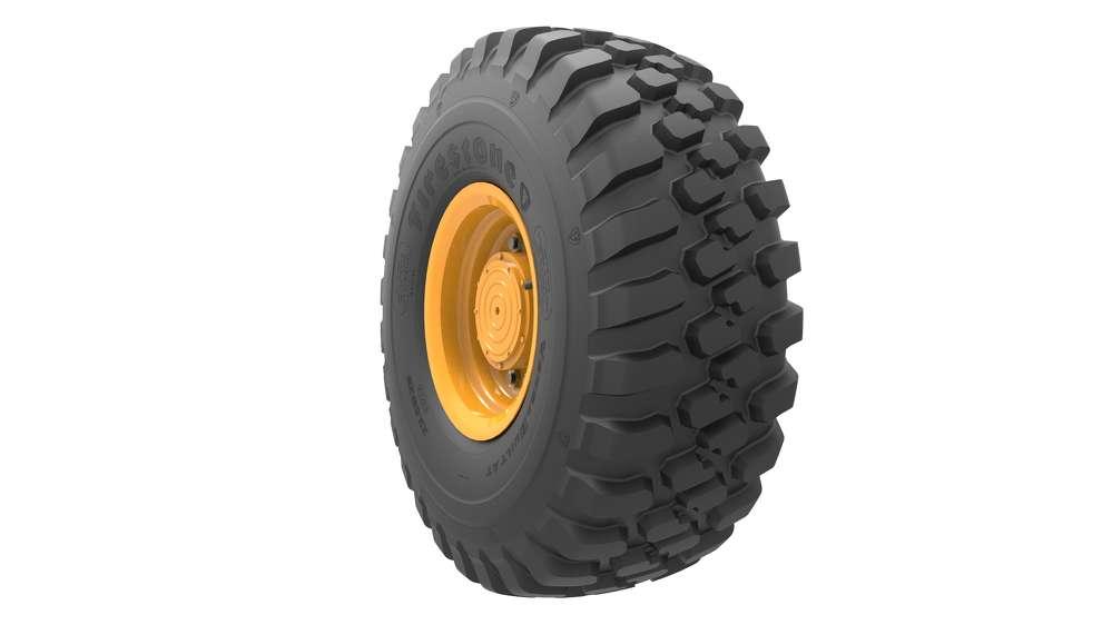 Bridgestone VersaBuilt all-traction tires.
