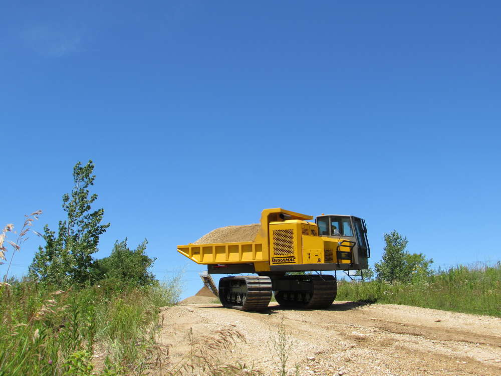 Terramac RT14R Crawler Carrier
