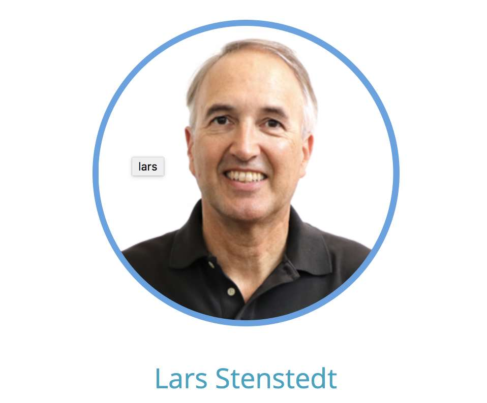 Lars Stenstedt, Vice President, Business Development of HiBot USA.