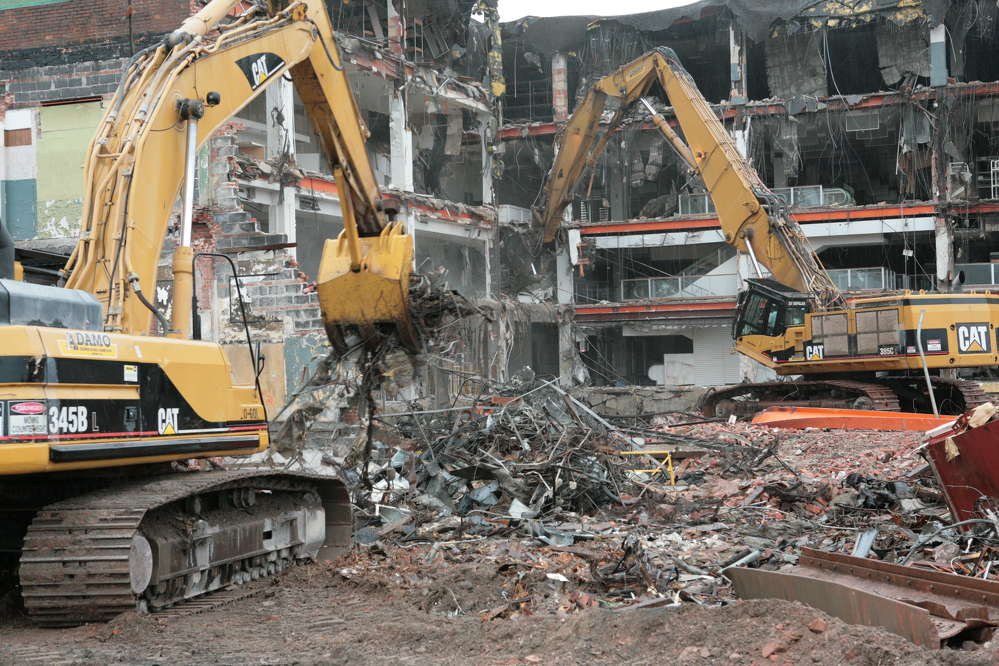 Thus far, more than 10,700 homes, apartment buildings, schools and other buildings have been demolished by approximately 20 demolition contractors since 2014 and the program is expected to be completed between 2020 and 2022.