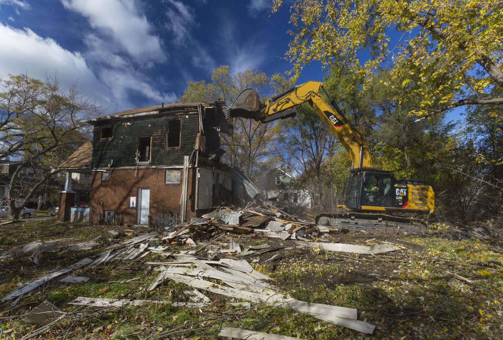 The demolitions are expected to cost between $500 million and $1 billion and are being funded by the U.S. Treasury's Hardest Hit Fund.