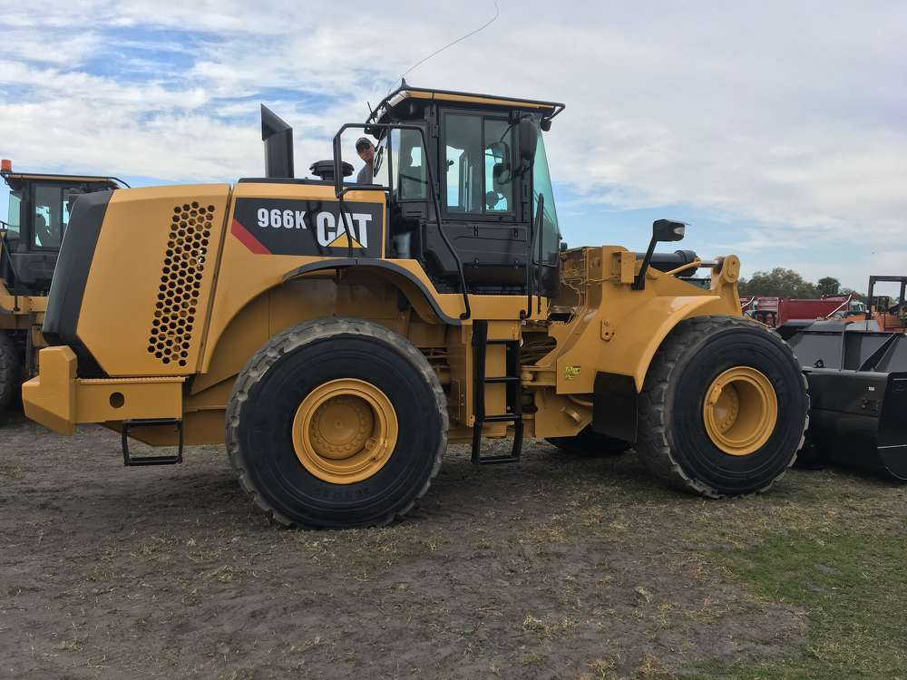 This Caterpillar 960K is a great example of the outstanding Cat machines available at the sale.