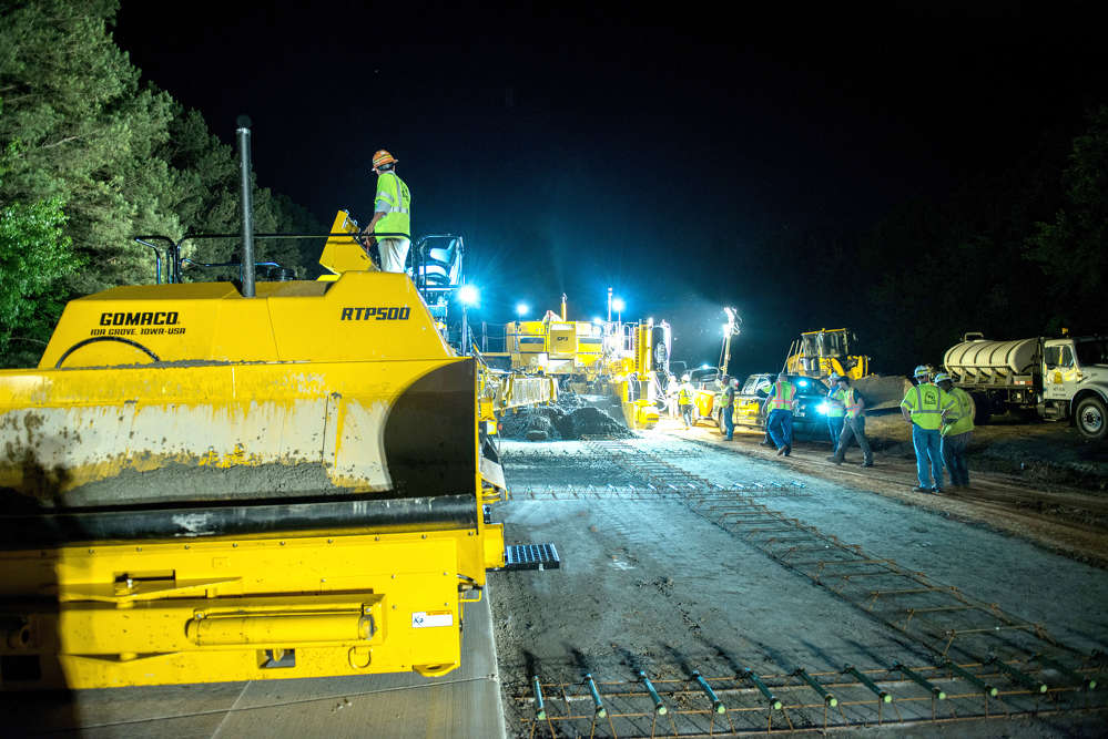 GDOT photo. Nicholas Mullins, GDOT District 1 construction engineer, said the main task on the project is adding a third travel lane north/south bound from McFarland to SR 369.