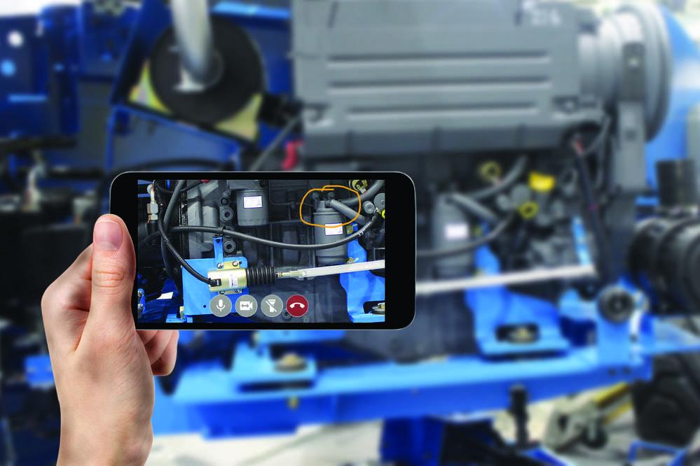 Genie Tech Sight application.