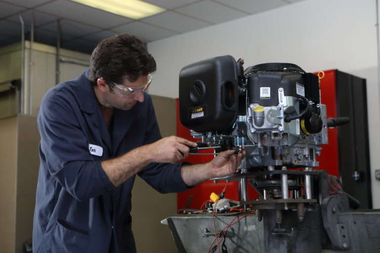 Briggs & Stratton operates three Power Application Centers.
