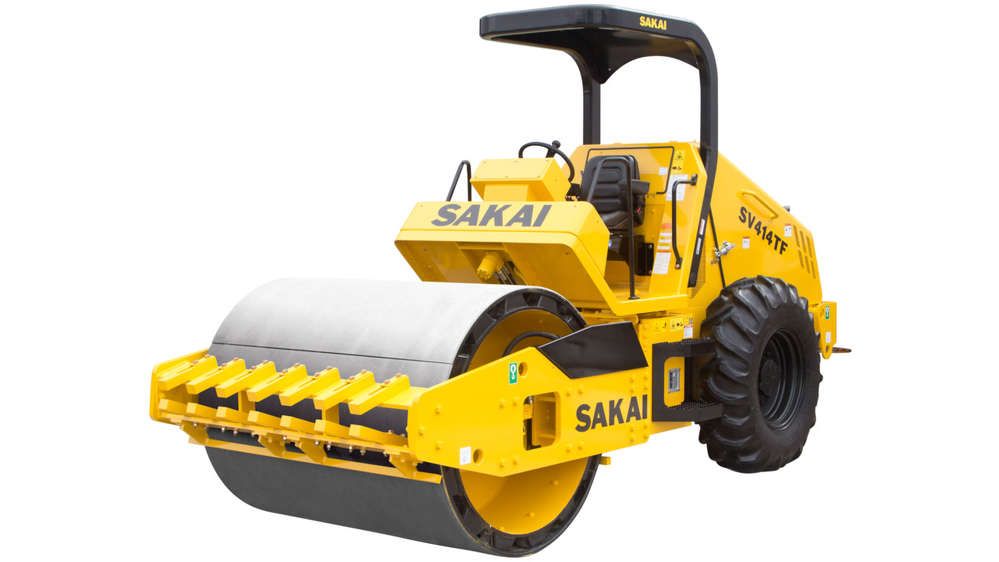ConExpo-Con/AGG is the first glimpse of the Tier 4 Final Sakai single-drum roller upgrades.