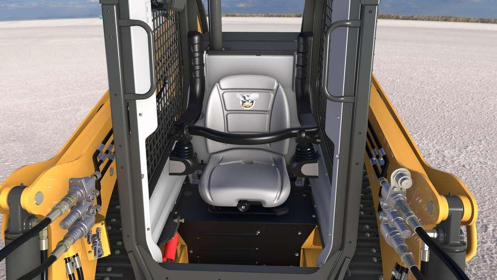 Case DL450 compact dozer loader.