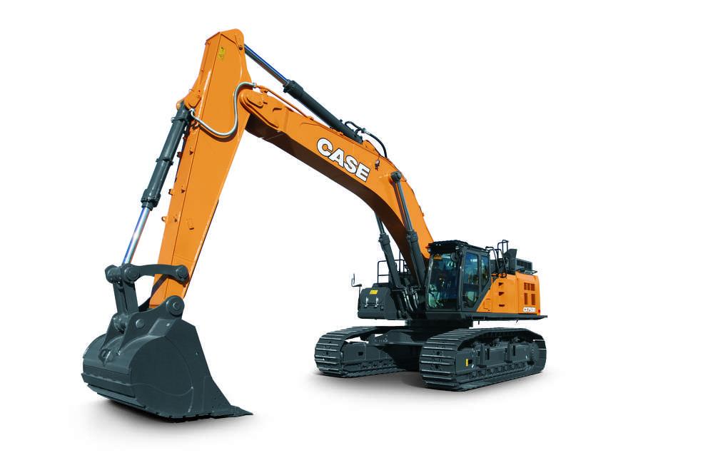 Case CX750 excavator.