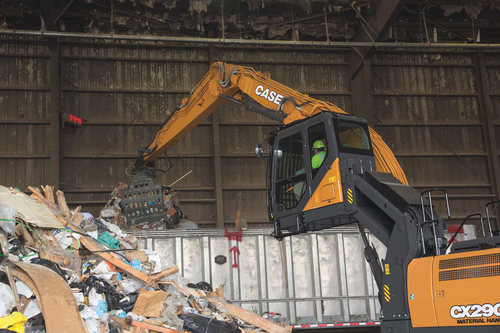 D Series models offer more standard features than previous Case excavators.
