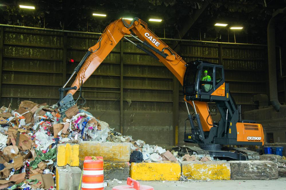 Case Construction Equipment CX290D.
