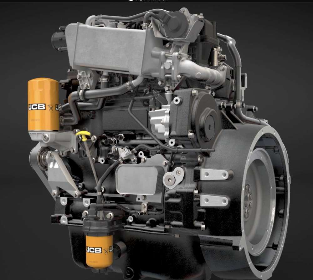 Three Liter JCB Engine