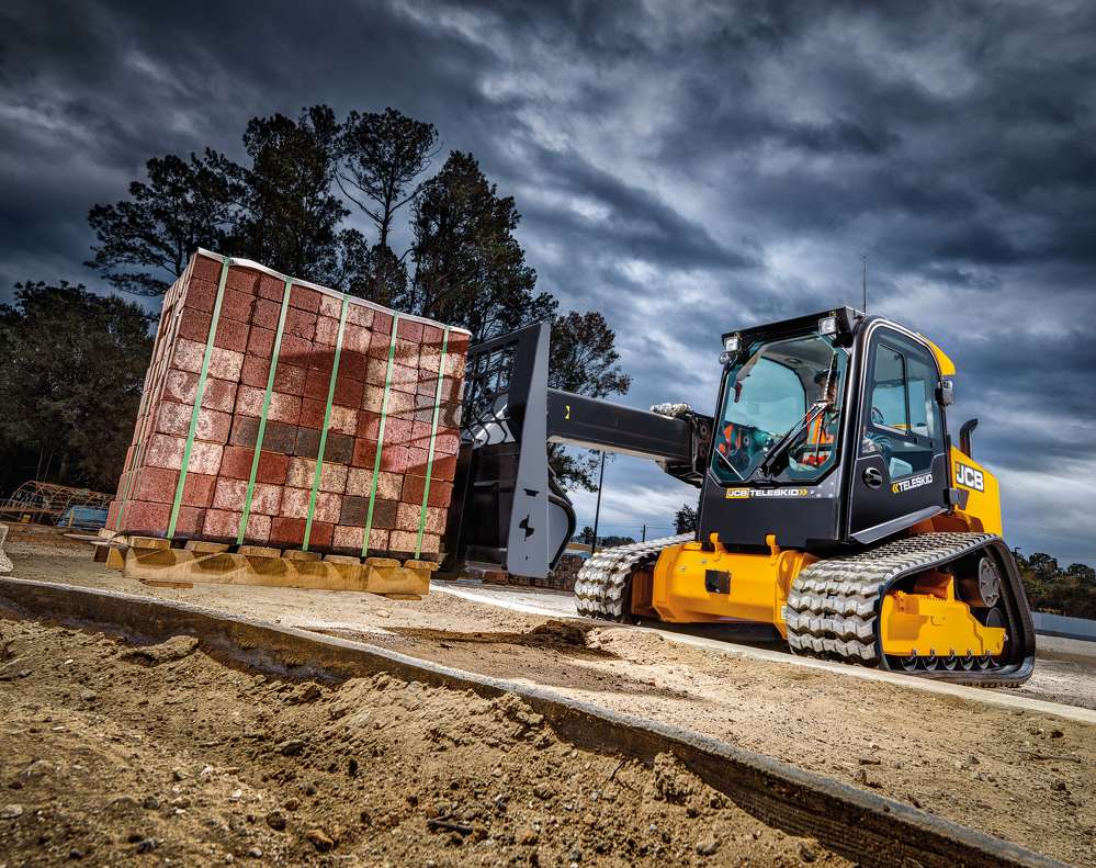 The Teleskid can reach 8% higher than any other skid steer.