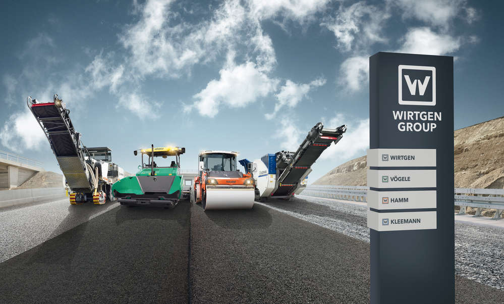 The Wirtgen Group of products released at ConExpo-Con/AGG 2017.