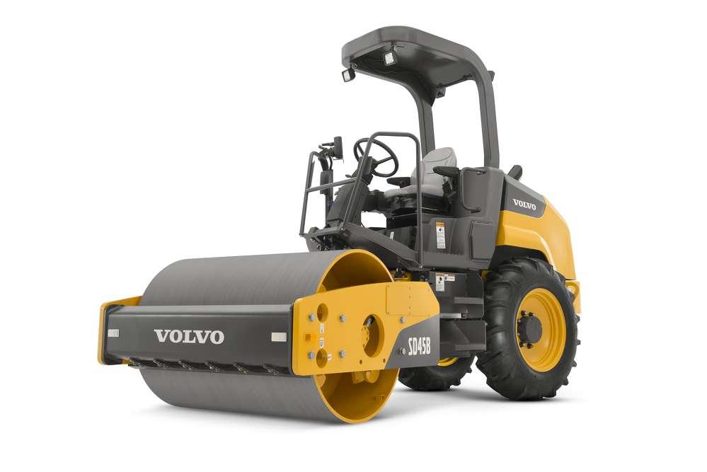 Volvo CE SD45B soil compactor.
