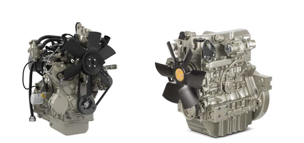 Compact reliability: Perkins® Syncro 1.7 and 2.8 litre compact engines are tailor made for compact construction machines.