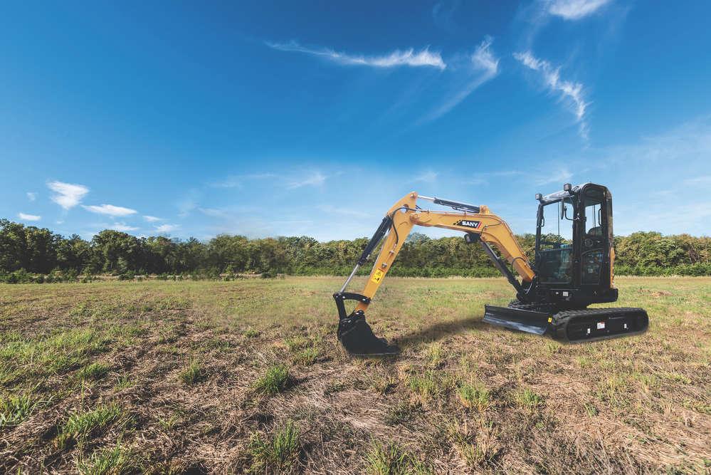 SANY SY26 Compact Excavators