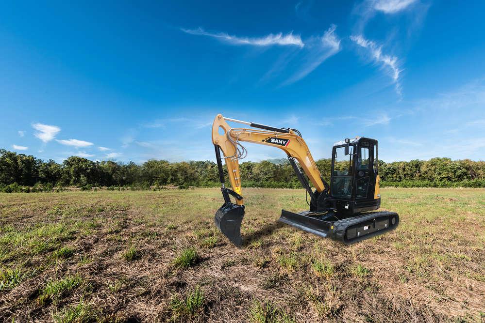 SANY SY50 Compact Excavators