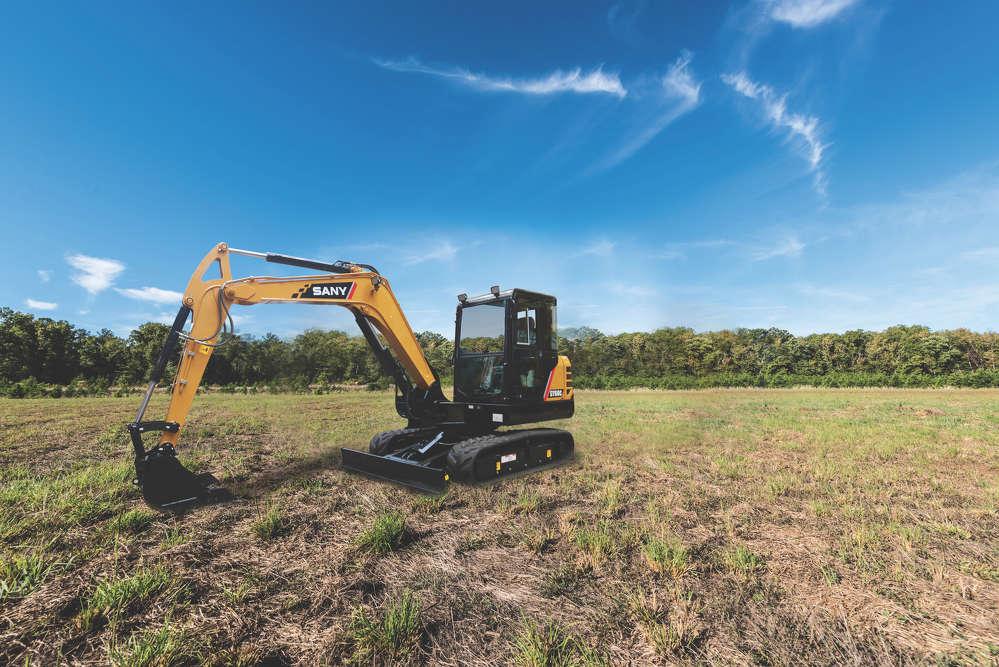 SANY SY60 Compact Excavators