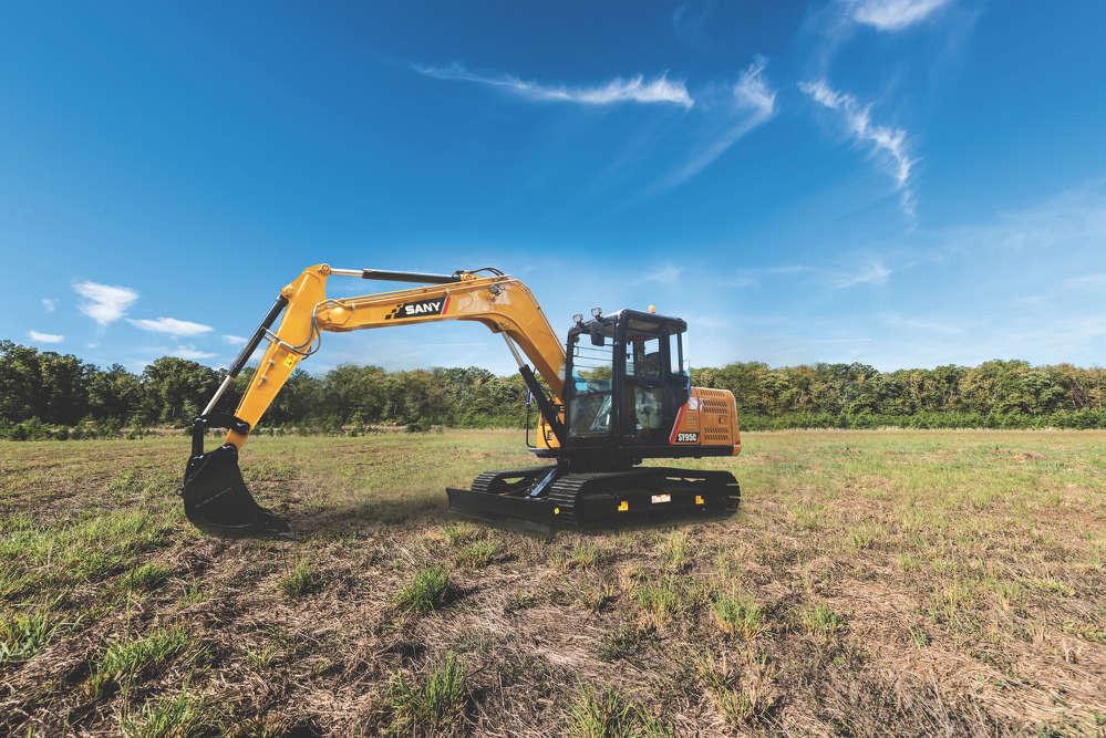 SANY SY95 Compact Excavators