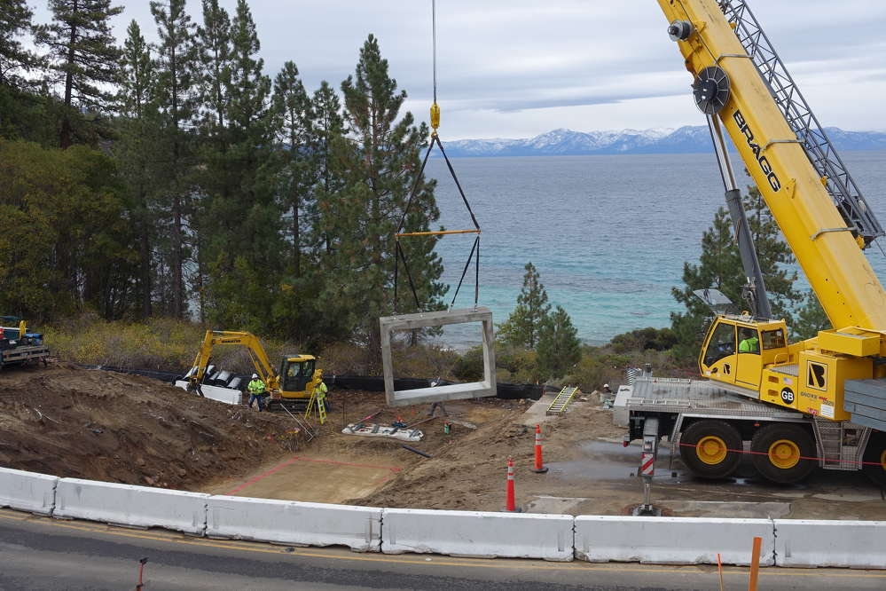 A major undertaking that will improve both user safety and access to popular recreational destinations in Nevada is taking shape, as construction continues on the SR 28 Shared Use Path Project.