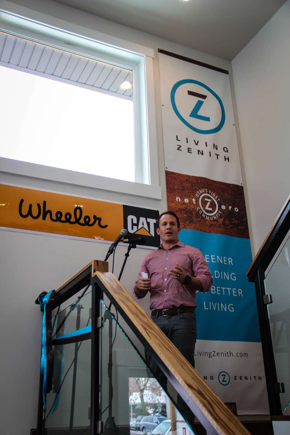 Jonathan Campbell, vice president of sales and rentals of Wheeler.