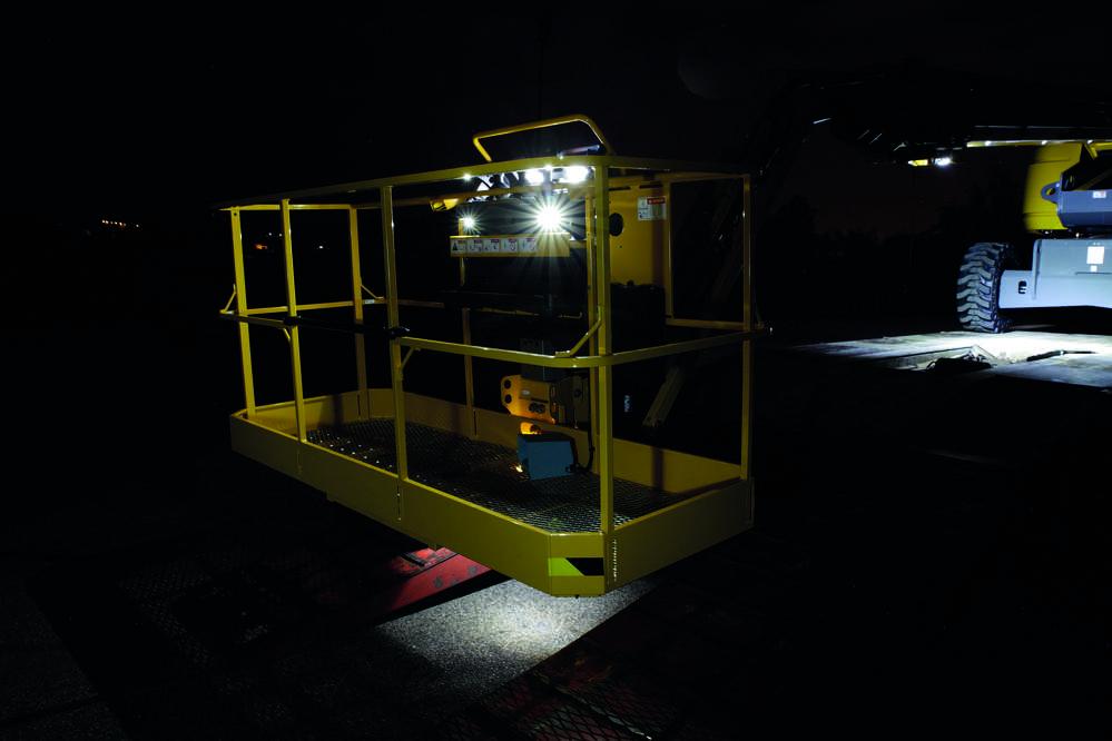 Haulotte lighting system.