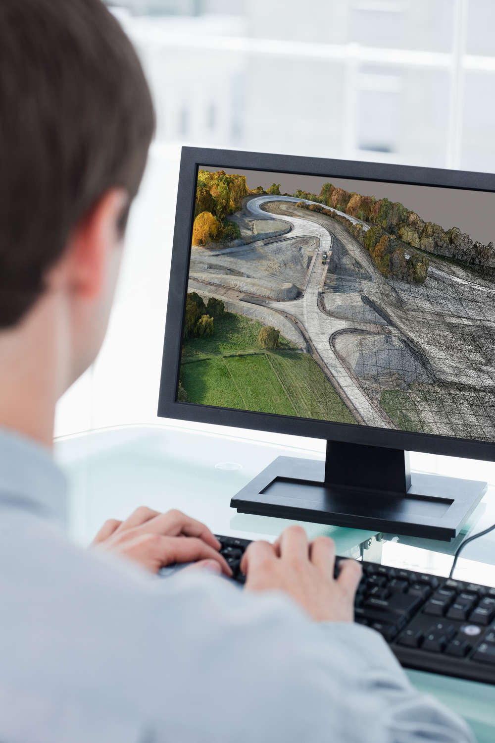 Topcon ContextCapture, powered by Bentley Systems, is a reality modeling software solution.