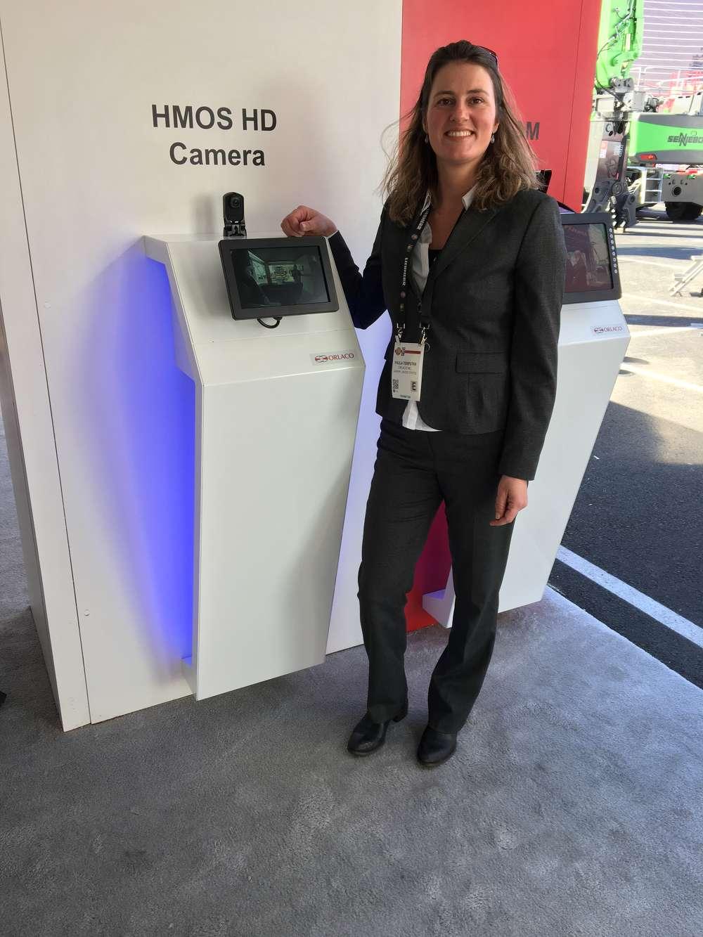 Paula Terpstra of Orlaco Camera & Monitor Solutions.
