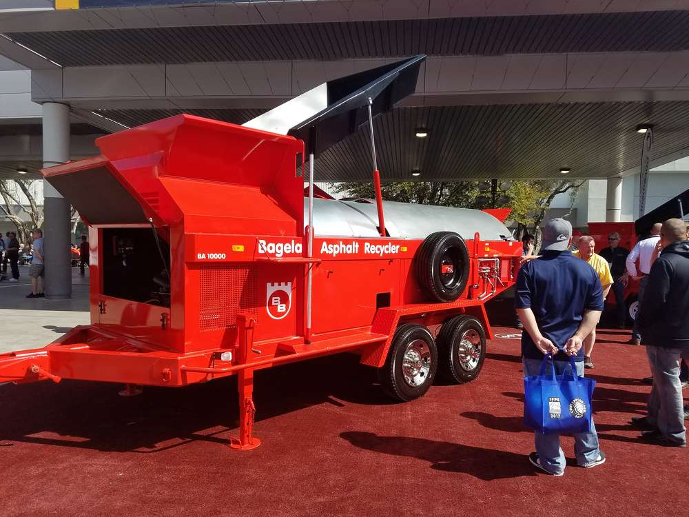 Bagela Asphalt Recycler showed off its BA 10000 during ConExpo 2017.