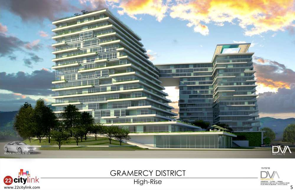 """Gramercy District"""" is a smart city project by 22 Capital Partners, a venture builder private entity company."""