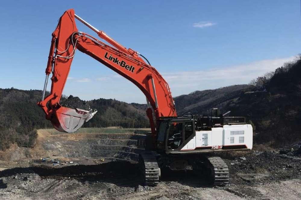 Link-Belt 750 X4 Excavator