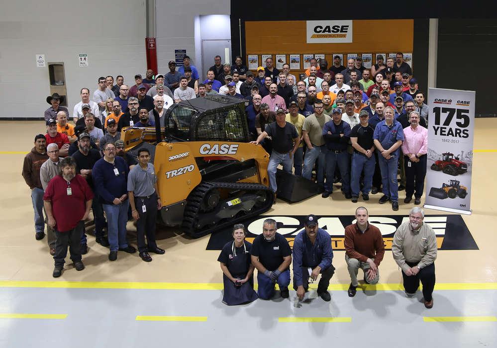 CASE Construction Equipment manufacturing facility in Wichita, Kansas.