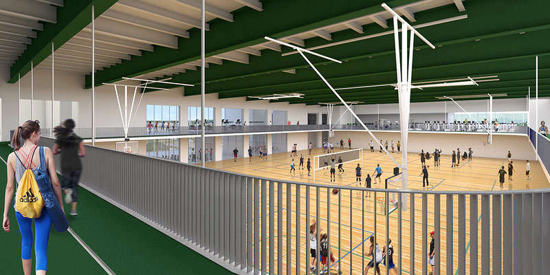 A renovation of Patrick allows for increased health and wellness space for the student body.