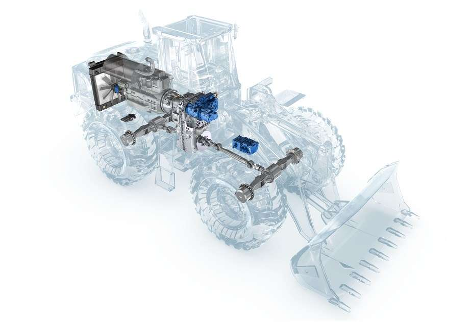 Photo: Dana Rexroth Introduces New Versions of R2 Hydromechanical Variable Transmission