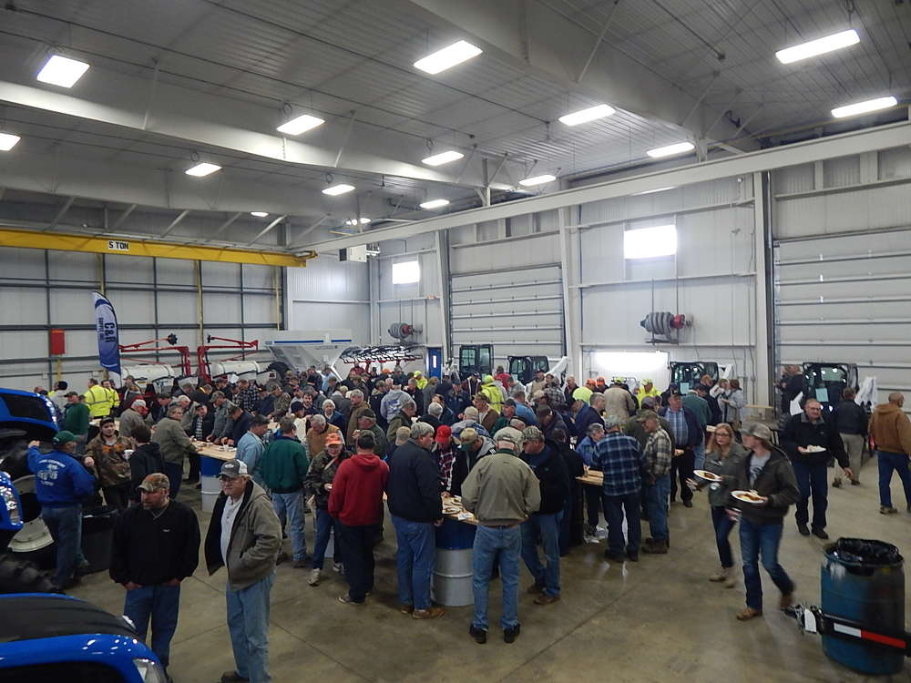 Lano Equipment of Norwood's open house and pork chop lunch proved popular with attendees.