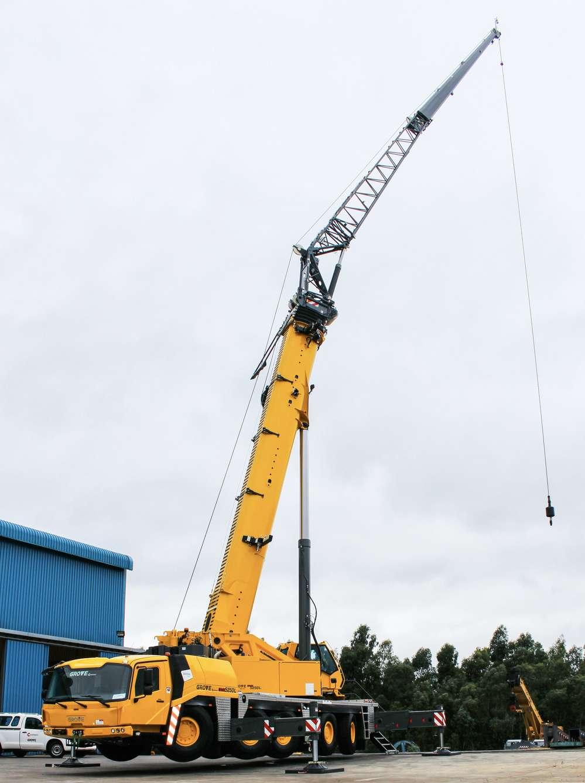 Grove GMK5250L crane.
