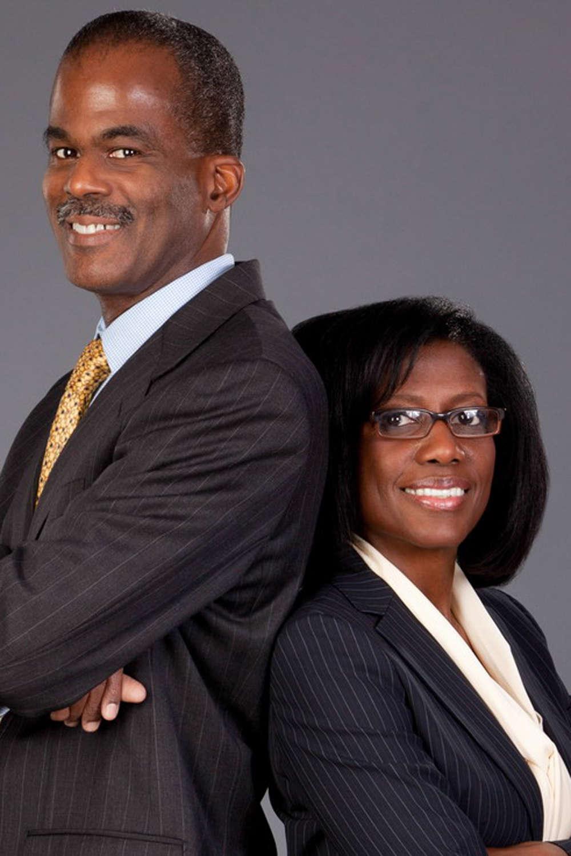 Terrence E. O'Neal, FAIA, managing principal of TONA (Terrence O'Neal Architect LLC) and Heather Philip-O'Neal, AIA, design principal.