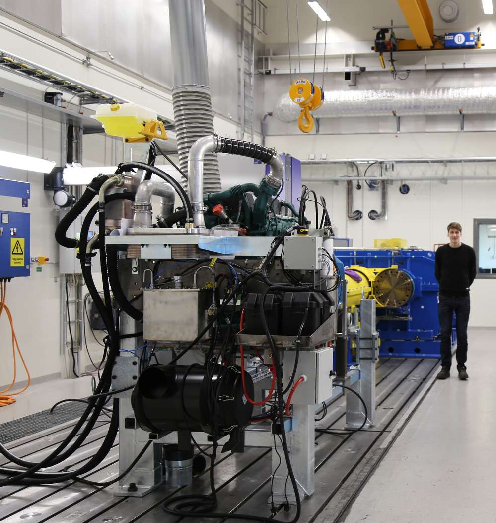 The new building is home to several test rigs that will test both electric and conventional drivelines and components.