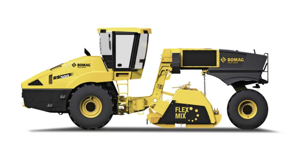 Bomag's RS 500 recycler/stabilizer.