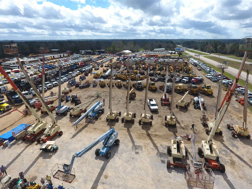 Jeff Martin Auctioneers Inc. held its largest public auction to date on Feb. 24 and 25