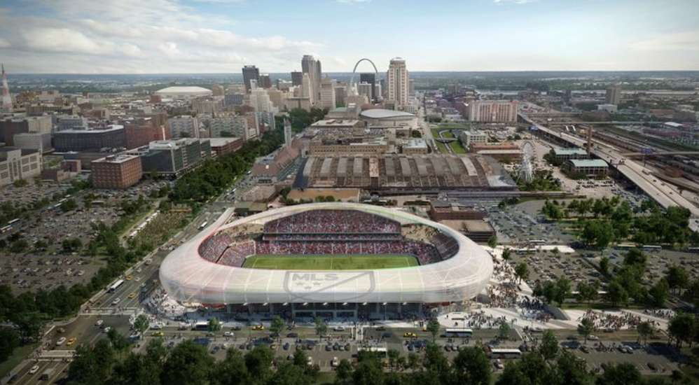 After choosing Los Angeles over St. Louis, the NFL Rams moved on but the idea of a new sports complex has not.