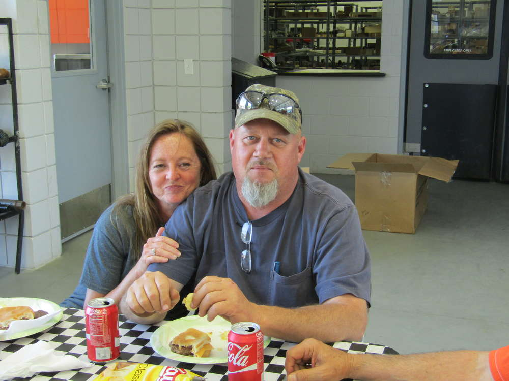 Coan and Joyce Bateman of Bateman Cable Services enjoyed the day.
