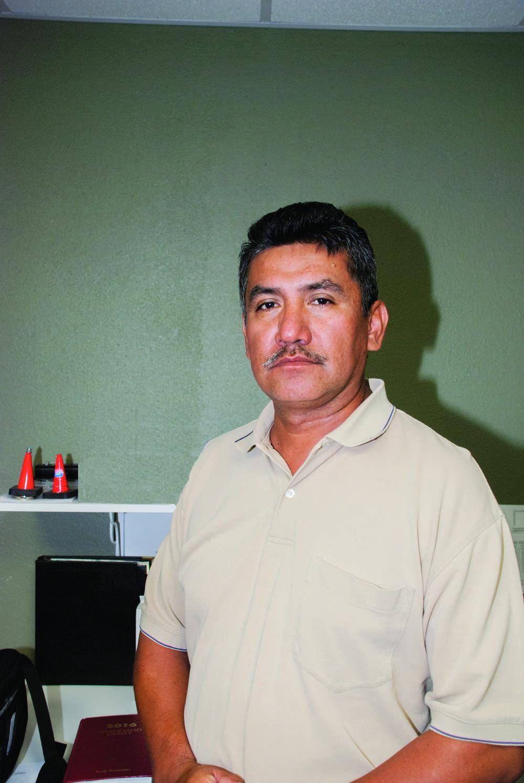 Marco Hernandez Sr., president of West Texas Rebar Placers