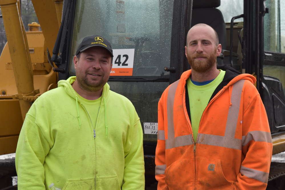 Jason (L) and Chris Nonn are the owners of Barksdale Nursery in Elkton, Md.  They are the third generation that has received Construction Equipment Guide