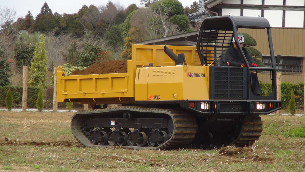 Morooka MST700VD rubber track carrier.