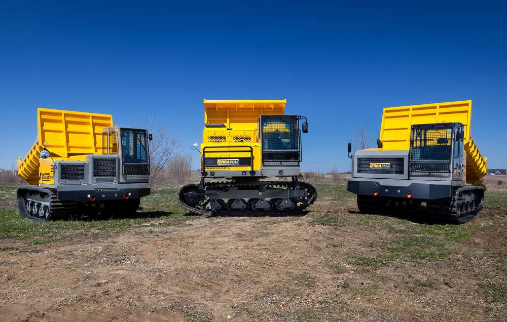 C.N. Wood will offer Terramac's RT9, RT14 and RT14R crawler carriers to serve a wide range of industries including general construction, environmental and agriculture. In addition to Terramac's three standard options — convertible dump-to-flat beds (RT9), rock dump beds (RT9, RT14 and RT14R) and flatbeds (RT9 and RT14) — C.N. Wood will offer Terramac units customized with support attachments such as cranes, personnel carriers, water tanks and hydroseeders.
